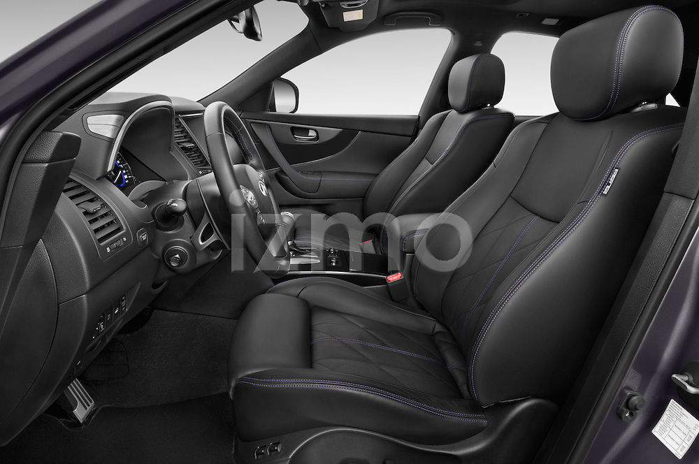 Front seat view of a 2015 Infiniti QX70 S 5 Door Suv Front Seat car photos