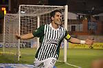 En juego correspondiente a la segunda fecha del grupo A de los cuadrangulares semifinales del Torneo Clausura Colombiano 2013, Atlético Nacional venció 3 – 2 a Itagüí FC en el Polideportivo Sur de Envigado. /