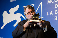 Guillermo del Toro at the Awards Ceremony at the 74th Venice Film Festival in Italy on 9 September 2017.<br /> <br /> Photo: Kristina Afanasyeva/Featureflash/SilverHub<br /> 0208 004 5359<br /> sales@silverhubmedia.com
