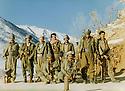 Iraq 1984 <br /> In Matin  mountains, 3rd left, Najmeddin Yousefi with peeshmergas in winter    <br /> Irak 1984 <br /> Dans les montagnes de Matin, 3eme a gauche, Najmeddin Yousefi avec des peshmergas, en hiver