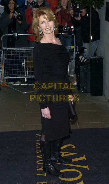 JANE ASHER.Attends The Evening Standard Awards, .The Savoy Hotel, London, November 26th 2006..full length black boots knee high flat dress.CAP/CAN.©Can Nguyen/Capital Pictures