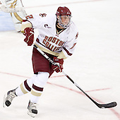 Brian Dumoulin (BC - 2) - The Boston College Eagles defeated the visiting University of Toronto Varsity Blues 8-0 in an exhibition game on Sunday afternoon, October 3, 2010, at Conte Forum in Chestnut Hill, MA.