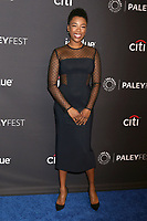 "LOS ANGELES - MAR 18:  Samira Wiley at the 2018 PaleyFest Los Angeles - ""The Handmaid's Tale"" at Dolby Theater on March 18, 2018 in Los Angeles, CA"
