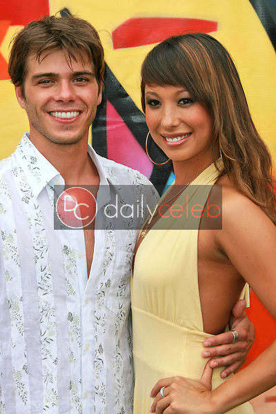 Mathew Lawrence and Cheryl Burke<br />