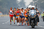 Hiroto Inoue (JPN), <br /> AUGUST 25, 2018 - Athletics - Marathon : <br /> Men's Marathon <br /> at Marathon Course <br /> during the 2018 Jakarta Palembang Asian Games <br /> in Jakarta, Indonesia. <br /> (Photo by Naoki Morita/AFLO SPORT)