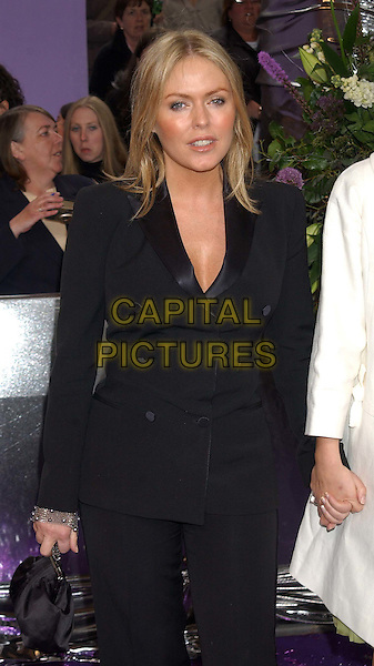 PATSY KENSIT.British Soap Awards 2004. BBC Centre, Wood Lane, London.May 8th, 2004.half length, half-length, black dress suit.www.capitalpictures.com.sales@capitalpictures.com.© Capital Pictures.