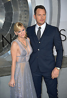 Actor Chris Pratt &amp; wife actress Anna Faris at the world premiere of &quot;Passengers&quot; at the Regency Village Theatre, Westwood. <br /> December 14, 2016<br /> Picture: Paul Smith/Featureflash/SilverHub 0208 004 5359/ 07711 972644 Editors@silverhubmedia.com