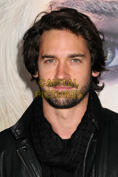 "Will Kemp.""Game Of Thrones"" 3rd Season Los Angeles Premiere held at the TCL Chinese Theatre, Hollywood, California, USA..March 18th, 2013.headshot portrait black leather jacket scarf beard facial hair.CAP/ADM/BP.©Byron Purvis/AdMedia/Capital Pictures."