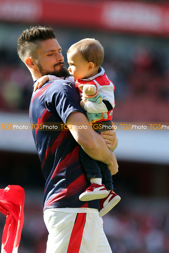 Olivier Giroud of Arsenal after Arsenal vs Everton, Premier League Football at the Emirates Stadium on 21st May 2017