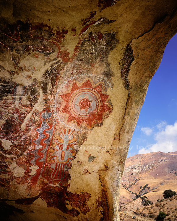"""Chumash Painted Cave, Kern County   CALIFORNIA"""