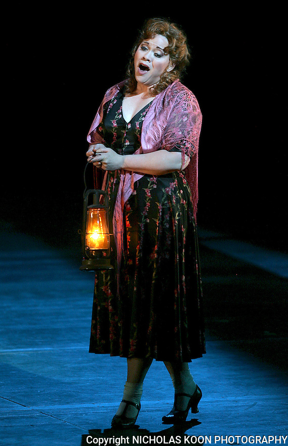 2008 - SUSANNAH - Pamela Armstrong as Susannah in Opera Pacific's production of Susannah at the Orange County Performing Arts Center..