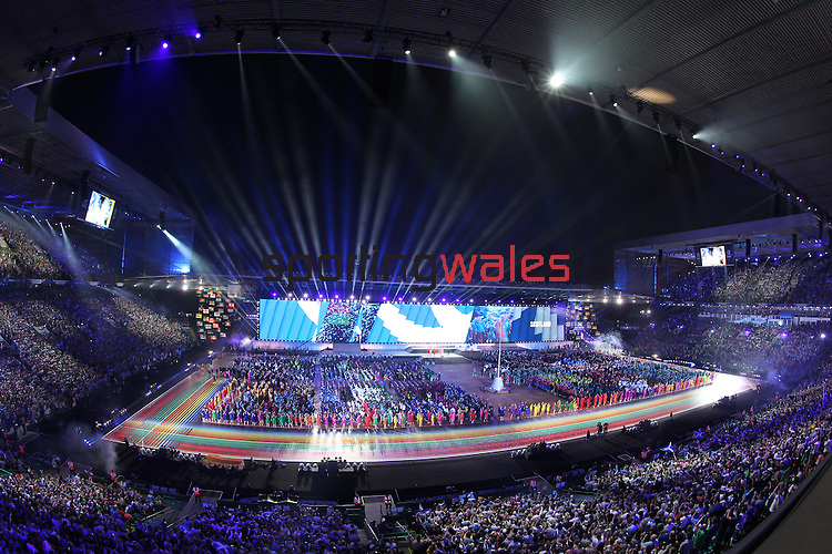 Glasgow 2014 Commonwealth Games<br /> <br /> Opening Ceremony<br /> Celtic Park<br /> <br /> 24.07.14<br /> &copy;Steve Pope-SPORTINGWALES