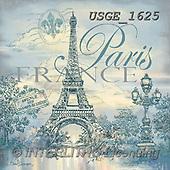Dona Gelsinger, CHRISTMAS SYMBOLS, WEIHNACHTEN SYMBOLE, NAVIDAD SÍMBOLOS,Paris,Eiffel tower, paintings+++++,USGE1625,#xx#