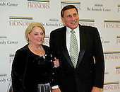 United States Representative John Mica (Republican of Florida) and his wife, Patricia, arrive for the formal Artist's Dinner honoring the recipients of the 2012 Kennedy Center Honors hosted by United States Secretary of State Hillary Rodham Clinton at the U.S. Department of State in Washington, D.C. on Saturday, December 1, 2012. The 2012 honorees are Buddy Guy, actor Dustin Hoffman, late-night host David Letterman, dancer Natalia Makarova, and the British rock band Led Zeppelin (Robert Plant, Jimmy Page, and John Paul Jones)..Credit: Ron Sachs / CNP
