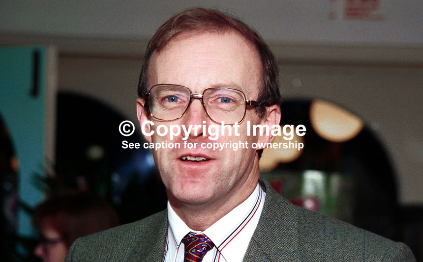 John Home Robertson, Labour MP, Britain. Photograph taken at 1996 Labour Party Conference. Ref: 199610154<br /> <br /> Copyright Image from Victor Patterson,<br /> 54 Dorchester Park, <br /> Belfast, UK, BT9 6RJ<br /> <br /> t1: +44 28 9066 1296 (from Rep of Ireland 048 9066 1296)<br /> t2: +44 28 9002 2446 (from Rep of Ireland 048 9002 2446)<br /> <br /> m: +44 7802 353836<br /> <br /> e: victorpatterson@me.com<br /> www.victorpatterson.com<br /> <br /> Please see my Terms and Conditions of Use at www.victorpatterson.com. It is IMPORTANT that you familiarise yourself with them.<br /> <br /> Images used on the Internet must be visibly watermarked i.e. &copy; Victor Patterson<br /> within the body of the image and copyright metadata must not be deleted. Images <br /> used on the Internet have a size restriction of 4kbs and will be chargeable at current<br />  NUJ rates unless agreed otherwise.<br /> <br /> This image is only available for the use of the download recipient i.e. television station, newspaper, magazine, book publisher, etc, and must not be passed on to any third <br /> party. It is also downloaded on condition that each and every usage is notified within 7 days to victorpatterson@me.com<br /> <br /> The right of Victor Patterson to be identified as the author is asserted in accordance with The Copyright Designs And Patents Act (1988). All moral rights are asserted.<br /> <br /> <br /> This image is only available for the use of the download recipient i.e. television station, newspaper, magazine, book publisher, etc, and must not be passed on to any third <br /> party. It is also downloaded on condition that each and every usage is notified within 7 days to victorpatterson@me.com<br /> <br /> The right of Victor Patterson to be identified as the author is asserted in accordance with The Copyright Designs And Patents Act (1988). All moral rights are asserted.