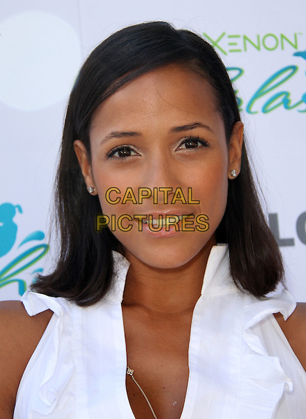 DANIA RAMIREZ.LG Mobile Phones and Hayden Panettiere hosts the LG Xenon Splash pool party held at The W Hotel Of Los Angeles, Los Angeles, California, USA..June 2nd, 2009.headshot portrait white .CAP/ADM/KB.©Kevan Brooks/AdMedia/Capital Pictures.