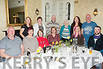Enjoy a reunion were members of the Daly family, pictured here together last Saturday night in Leen's Hotel, Abbeyfeale.