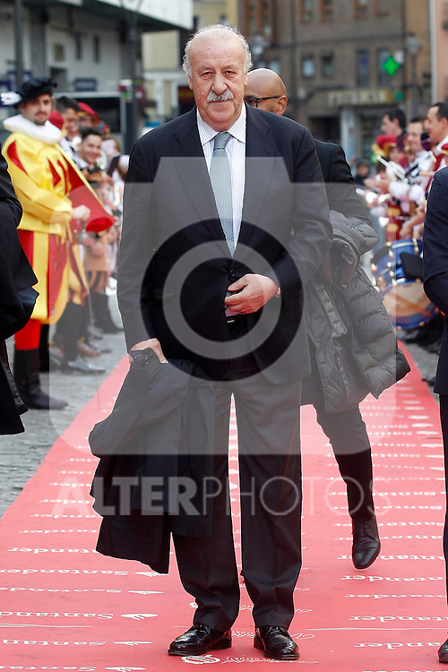 Former national soccer coach Vicente del Bosque during 37 Sport Gala - National Sports Awards 2017. March 6,2017. (ALTERPHOTOS/Acero)