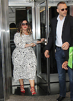 NEW YORK, NY-July 12:  Melissa McCarthy at Gilda's Club & Ghostbuster Cast Lighting  at Empire State Building  in New York. NY July 12, 2016. Credit:RW/MediaPunch