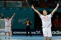 17.01.2013 World Championshio Handball. Match between Spain vs Hungray at the stadium La Caja Magica. The picture show