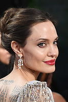 Angelina Jolie attends the European Premiere of Maleficent: Mistress of Evil at the BFI IMAX Waterloo in London.<br /> <br /> OCTOBER 9th 2019<br /> <br /> REF: RHD 193636 Credit: Matrix/MediaPunch ***FOR USA ONLY****