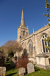 Church of Saint Lawrence, Lechlade, Gloucestershire, England, UK