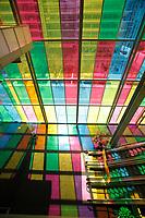 Montreal (QC) CANADA - April 2012 File Photo -Montreal Convention Centre ,  Palais des Congres de Montreal