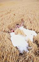 Emma and Zoe wedding at Tironui Farm in Martinborough, New Zealand on Saturday, 22 February 2020. Photo: Dave Lintott / lintottphoto.co.nz