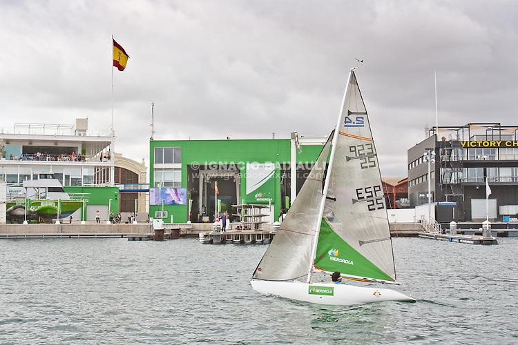 Presentación Equipo Paraolímpico Español berdrola. Base del Equipo Iberdrola Marina Real Juan Carlos I, Valencia