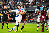 Crystal Palace Martin Kelly during the Premier League match between West Ham United and Crystal Palace at the Olympic Park, London, England on 5 October 2019. Photo by Andrew Aleksiejczuk / PRiME Media Images.