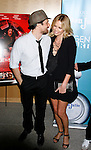 """WESTWOOD, CA. - September 22: Actors Martin Henderson and Charlize Theron arrive at a special screening of """"Battle in Seattle"""" held at the Clarity Theater on Monday September 22, 2008 in Beverly Hills, California."""