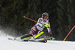 10.03.2018, Ofterschwanger Horn, Ofterschwang, GER, Slalom Weltcup in Ofterschwang, im Bild Sara Hector (SWE, #42)<br /> <br /> Foto &copy; nordphoto / Hafner