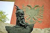 Das angebliche Grabmal von Nationalheld Skanderbeg in Lezhe in Albanien , am 31.05.2008 . Travel Reise Europa Balkan Suedosteuropa Osteuropa Albania Urlaub  Tourismus tourism