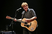 Vincent Vallieres performs during a concert at the Festival d'ete de Quebec in Quebec City Thursday July 10, 2014.