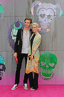 LONDON, ENGLAND - AUGUST 3: James Cook and Poppy Delevingne attending the 'Suicide Squad' European Premiere at Odeon Cinema, Leicester Square on August 3, 2016 in London, England.<br /> CAP/MAR<br /> &copy;MAR/Capital Pictures /MediaPunch ***NORTH AND SOUTH AMERICAS ONLY***