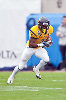 January 01, 2010:   West Virginia running back Noel Devine (7) during Konica Minolta Gator Bowl College football action between the West Virginia Mountaineers and the Florida State Seminoles played at the Jacksonville Municipal Stadium in Jacksonville, Florida on January 01, 2010.