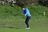 Gerard Dunne (Co.Louth) on the 18th fairway during Round 3 of The East of Ireland Amateur Open Championship in Co. Louth Golf Club, Baltray on Monday 3rd June 2019.<br /> <br /> Picture:  Thos Caffrey / www.golffile.ie<br /> <br /> All photos usage must carry mandatory copyright credit (© Golffile | Thos Caffrey)