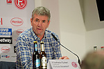 11.03.2019, Merkur Spielarena, Duesseldorf , GER, 1. FBL,  Fortuna Duesseldorf vs. Eintracht Frankfurt,<br />  <br /> DFL regulations prohibit any use of photographs as image sequences and/or quasi-video<br /> <br /> im Bild / picture shows: <br /> Pressekonferenz (PK) nach dem Spiel,  Friedhelm Funkel Trainer / Headcoach (Fortuna Duesseldorf), <br /> <br /> Foto &copy; nordphoto / Meuter