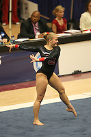 8 April 2006: Stanford's Alex Pintchouk during the NCAA West Regional women's gymnastics championships at Maples Pavilion in Stanford, CA.