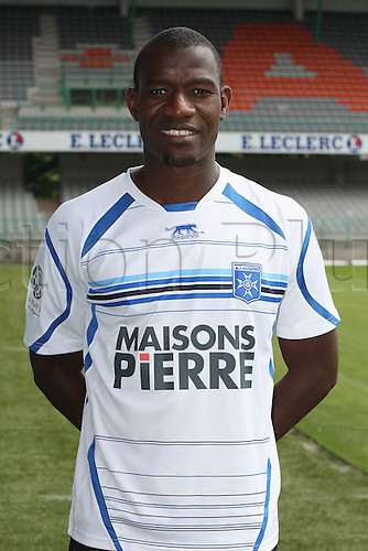 01.08.2013. Auxerre, France. Official Club photoshoot portait for season 2013-14.  (Auxerre) Adama Coulibaly