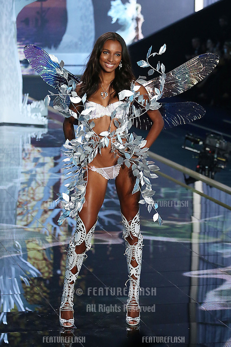 Jasmine Tookes on the runway at the Victoria's Secret Fashion Show 2014 London held at Earl's Court, London. 02/12/2014 Picture by: James Smith / Featureflash