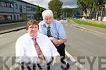 Mayor of Kerry Terry O'Brien and Mayor of Tralee Johnny Wall are asking Kerry General hospital to look at their parking charges.