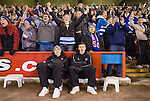 Sheffield United 1 Reading 1, 14/02/2006. Bramall Lane, Championship. Reading fans celebrating Dave Kitsons equaliser. Photo by Paul Thompson.