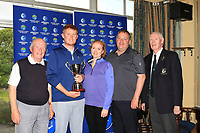 Jim McGovern (Chairman Connacht Branch G.U.I) with Eanna Griffin (Waterford) and family after winning the Connacht Stroke Play Championship at Athlone Golf Club Sunday 11th June 2017.<br /> Photo: Golffile / Thos Caffrey.<br /> <br /> All photo usage must carry mandatory copyright credit     (&copy; Golffile | Thos Caffrey)