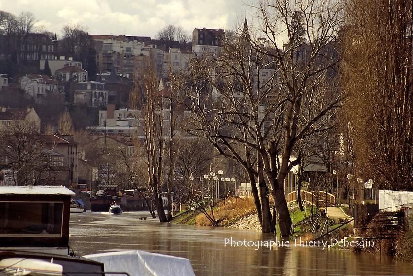 1989-1994; Issy Les Moulineaux; Ile Saint Germain