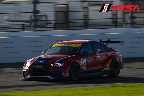 #54 JDC-Miller MotorSports Audi RS3 LMS TCR, TCR: Michael Johnson, Stephen Simpson