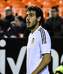 Valencia CF's  Daniel Parejo during spanish King's Cup match. January 21, 2016. (ALTERPHOTOS/Javier Comos)