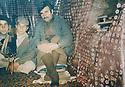Iraq 1980 <br />    In Nawzang, the political bureau of PUK with on the right, Mullazem Omar Abdallah  <br /> Irak 1980 <br /> Le bureau politique de l'UPK a Nawza,ng avec a droite Mullazem Omar Abdallah
