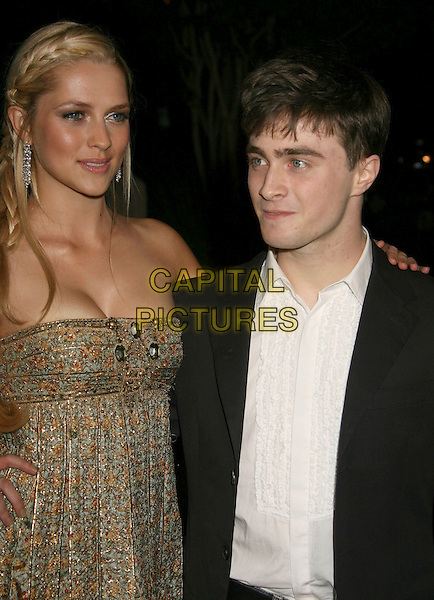 "TERESA PALMER & DANIEL RADCLIFFE .""December Boys"" Los Angeles Premiere held at the  Director's Guild of America,.West Hollywood, California, USA,.06 September 2007..half length.CAP/ADM/RE.©Russ Elliot/AdMedia/Capital Pictures."