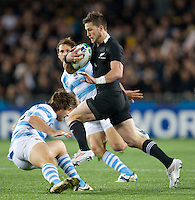 Rugby World Cup Auckland  New Zealand v Argentina Quarter Final 4 - 09/10/2011.Cory Jane  (New Zealand).Photo Frey Fotosports International/AMN Images